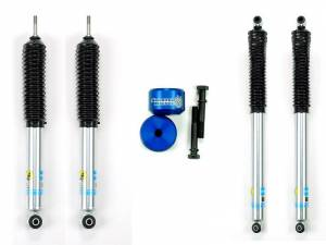 Steering And Suspension - Lift & Leveling Kits - Sinister Diesel - Sinister Diesel Level Kit 2005-2016 Ford 6.0 - Blue; 4wd Only w/ Bilstein Shocks SD-0510LVL-BLU-BIL