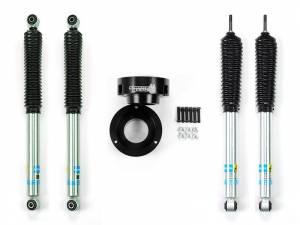 Steering And Suspension - Lift & Leveling Kits - Sinister Diesel - Sinister Diesel Level Kit for 94-12 Dodge Cummins; Black 4wd Only w/ Shocks SD-9409LVL-BLK-BIL