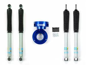 Steering And Suspension - Lift & Leveling Kits - Sinister Diesel - Sinister Diesel Level Kit for 1994-2012 Dodge Cummins - Blue; 4wd Only w/ Shocks SD-9409LVL-BLU-BIL