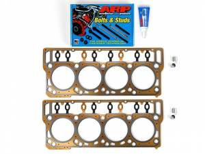 Engine Parts - Cylinder Head Parts - Sinister Diesel - Sinister Diesel Head Stud and Gasket Kit for 2008-2010 Ford Powerstroke 6.4L SD-ARP-HEAD-6.4