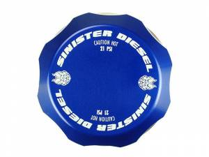 Sinister Diesel Coolant Reservoir (Degas) Cap for 17-19 Ford Powerstroke 6.7L SD-DC-6.7P-17