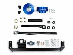 Steering And Suspension - Track Bars - Sinister Diesel - Sinister Diesel Steering & Level Kit for 2003-2009 Dodge Cummins 4WD (Blue) SD-DODGE-TB-SBS-LVL-BLU-03