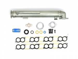 Exhaust - EGR Parts - Sinister Diesel - Sinister Diesel EGR Cooler w/ Install Kit for 2003 Ford Powerstroke 6.0L SD-EGRC-6.0-03-IK