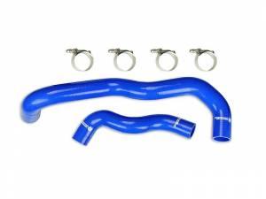 2003-2007 Ford 6.0L Powerstroke - Cooling System - Sinister Diesel - Sinister Diesel Radiator Hose Kit for 2003-2004 Ford Powerstroke 6.0L (Blue) SD-HOSEKIT-FORD-03-04