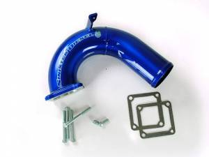 Turbo Chargers & Components - Intercoolers and Pipes - Sinister Diesel - Sinister Diesel Intake Elbow for 2003-2007 Dodge Cummins 5.9L SD-INTEL-5.9-03