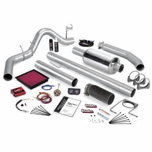 Banks Power Stinger Bundle Power System W/Single Exit Exhaust Black Tip 98 Dodge 5.9L Extended Cab 49364-B