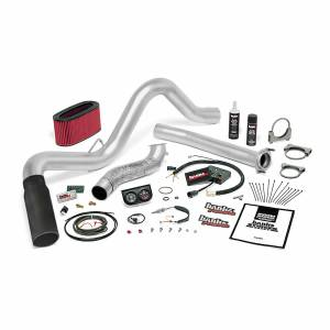 1994-1997 Ford 7.3L Powerstroke - Programmers & Tuners - Banks Power - Banks Power Stinger Bundle Power System W/Single Exit Exhaust Black Tip 95.5-97 Ford 7.3L Automatic Transmission 48557-B