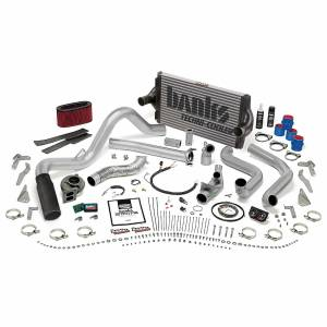 1994-1997 Ford 7.3L Powerstroke - Programmers & Tuners - Banks Power - Banks Power PowerPack Bundle Complete Power System W/OttoMind Engine Calibration Module Black Tip 94-95.5 Ford 7.3L Manual Transmission 48556-B