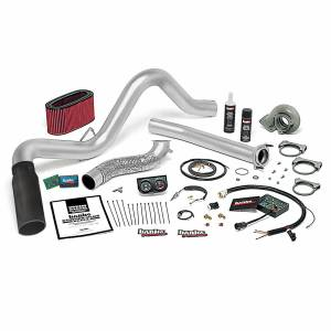 1994-1997 Ford 7.3L Powerstroke - Programmers & Tuners - Banks Power - Banks Power Stinger Plus Bundle Power System W/Single Exit Exhaust Black Tip 94-95.5 Ford 7.3L Automatic Transmission 48553-B