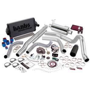 1999-2003 Ford 7.3L Powerstroke - Programmers & Tuners - Banks Power - Banks Power PowerPack Bundle Complete Power System W/Single Exit Exhaust Black Tip 99.5-03 Ford 7.3L F250/F350 Automatic Transmission 47556-B