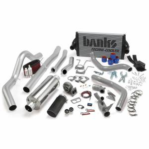 1994-1997 Ford 7.3L Powerstroke - Programmers & Tuners - Banks Power - Banks Power PowerPack Bundle Complete Power System W/OttoMind Engine Calibration Module Black Tail Pipe 94-97 Ford 7.3L CCLB Manual Transmission 46361-B