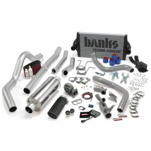 1994-1997 Ford 7.3L Powerstroke - Programmers & Tuners - Banks Power - Banks Power PowerPack Bundle Complete Power System W/OttoMind Engine Calibration Module Black Tail Pipe 94-97 Ford 7.3L CCLB Automatic Transmission 46356-B