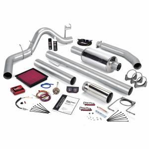 Banks Power Stinger Bundle Power System W/Single Exit Exhaust Chrome Tip 98 Dodge 5.9L Standard Cab 49363