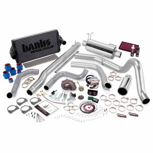 1999-2003 Ford 7.3L Powerstroke - Programmers & Tuners - Banks Power - Banks Power PowerPack Bundle Complete Power System W/Single Exit Exhaust Chrome Tip 99.5-03 Ford 7.3L F250/F350 Automatic Transmission 47556