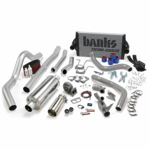 1994-1997 Ford 7.3L Powerstroke - Programmers & Tuners - Banks Power - Banks Power PowerPack Bundle Complete Power System W/OttoMind Engine Calibration Module Chrome Tail Pipe 94-97 Ford 7.3L CCLB Manual Transmission 46361