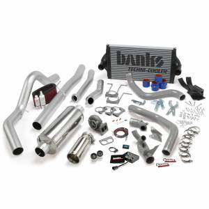 1994-1997 Ford 7.3L Powerstroke - Programmers & Tuners - Banks Power - Banks Power PowerPack Bundle Complete Power System W/OttoMind Engine Calibration Module Chrome Tail Pipe 94-97 Ford 7.3L CCLB Automatic Transmission 46356