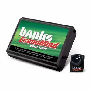 Engine Parts - Electronic Controls - Banks Power - Banks Power EconoMind Diesel Tuner (PowerPack Calibration) W/Switch 06-07 Chevy 6.6L LLY-LBZ 63865