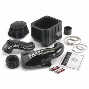 Air Intakes & Accessories - Air Intakes - Banks Power - Banks Power Ram-Air Cold-Air Intake System Dry Filter 01-04 Chevy/GMC 6.6L LB7 42132-D