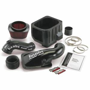 Air Intakes & Accessories - Air Intakes - Banks Power - Banks Power Ram-Air Cold-Air Intake System Oiled Filter 01-04 Chevy/GMC 6.6L LB7 42132
