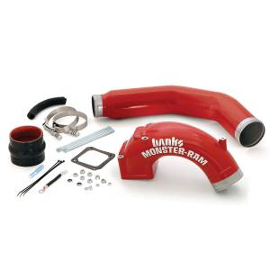 Engine Parts - Parts & Accessories - Banks Power - Banks Power Monster-Ram Intake Elbow W/Boost Tube 03-07 Dodge 5.9L 42766