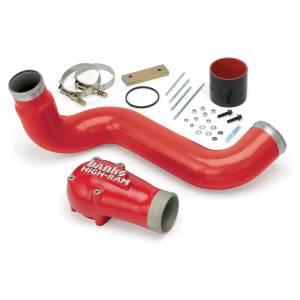 Banks Power High-Ram Air Intake Elbow 03-04 Ford 6.0L Stock Intercooler 42750