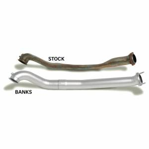 Banks Power - Banks Power Monster Exhaust System Single Exit Black Tip 94-97 Ford 7.3L CCLB 46299-B - Image 3
