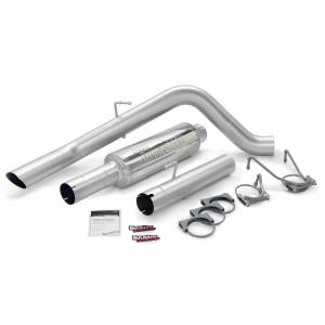 Exhaust - Exhaust Systems - Banks Power - Banks Power Monster Sport Exhaust System 06-07 Dodge 325hp Mega Cab 48780