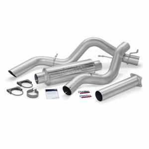 Exhaust - Exhaust Systems - Banks Power - Banks Power Monster Sport Exhaust System 01-05 Chevy 6.6L EC/CCSB 48770