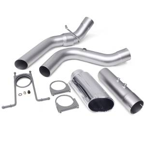 Exhaust - Exhaust Systems - Banks Power - Banks Power Monster Exhaust System 4-inch Single Exit Chrome Tip 17-18 Chevy 6.6L L5P from 48947