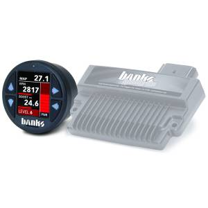 Banks Power - Banks Power Banks SpeedBrake with Banks iDash 1.8 Super Gauge for use with 2004-2005 Chevy 6.6L, LLY 61431