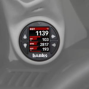 Banks Power - Banks Power Economind Diesel Tuner (PowerPack calibration) with Banks iDash 1.8 Super Gauge for use with 2006-2007 Chevy 6.6L, LLY-LBZ 61413 - Image 2