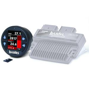 Engine Parts - Electronic Controls - Banks Power - Banks Power Six-Gun Diesel Tuner W/iDash 1.8 DataMonster 08-10 Ford 6.4L 61452