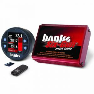 Engine Parts - Electronic Controls - Banks Power - Banks Power Six-Gun Diesel Tuner W/iDash 1.8 DataMonster 03-05 Dodge 5.9L 61448