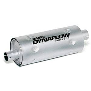 Exhaust - Mufflers - Banks Power - Banks Power Stainless Steel Exhaust Muffler 3 Inch Inlet X 3.5 Inch Outlet W/Heatshield 52405