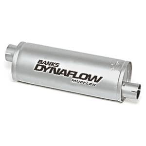 Exhaust - Mufflers - Banks Power - Banks Power Stainless Steel Exhaust Muffler 3 Inch Inlet X 3.5 Inch Outlet Various Applications 52407