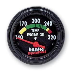Gauges & Pods - Gauges - Banks Power - Banks Power Temp Gauge Kit Engine Oil Dodge 5.9L 64130