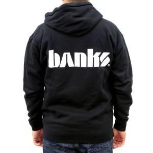 Banks Power Hoodie Medium Banks Logo Zip Hoodie 97403-Medium