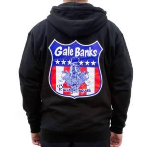 Banks Power Hoodie Medium Gale Banks Racing Engines Zip Hoodie 97402-Medium