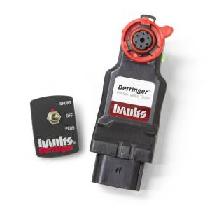 2017+ GM 6.6L L5P Duramax - Programmers & Tuners - Banks Power - Banks Power Derringer (Gen2) Tuner with ActiveSafety 2017-19 Chevy/GMC 2500/3500 6.6L L5P 66682
