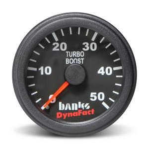Gauges & Pods - Gauges - Banks Power - Banks Power Boost Gauge Kit 0-50 PSI 2-1/16 Inch Diameter (52.4mm) 64051